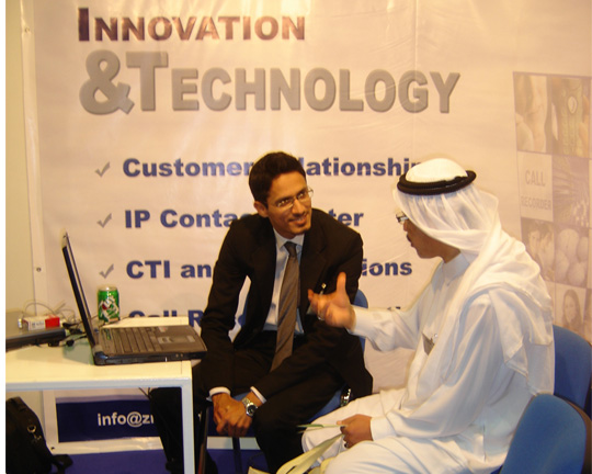 ZRG represents Pakistan in Dubai Software Expo