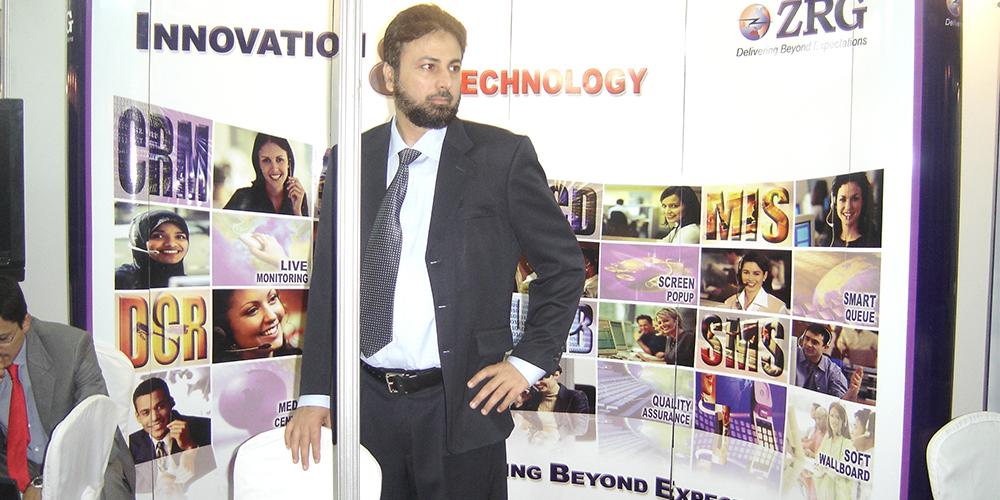 1 - ZRG represents Pakistan in E-Banking '09, Bangladesh