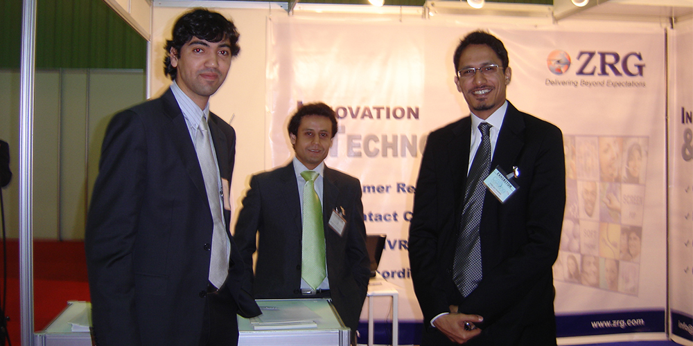 1 - ZRG represents Pakistan in Dubai Software Expo