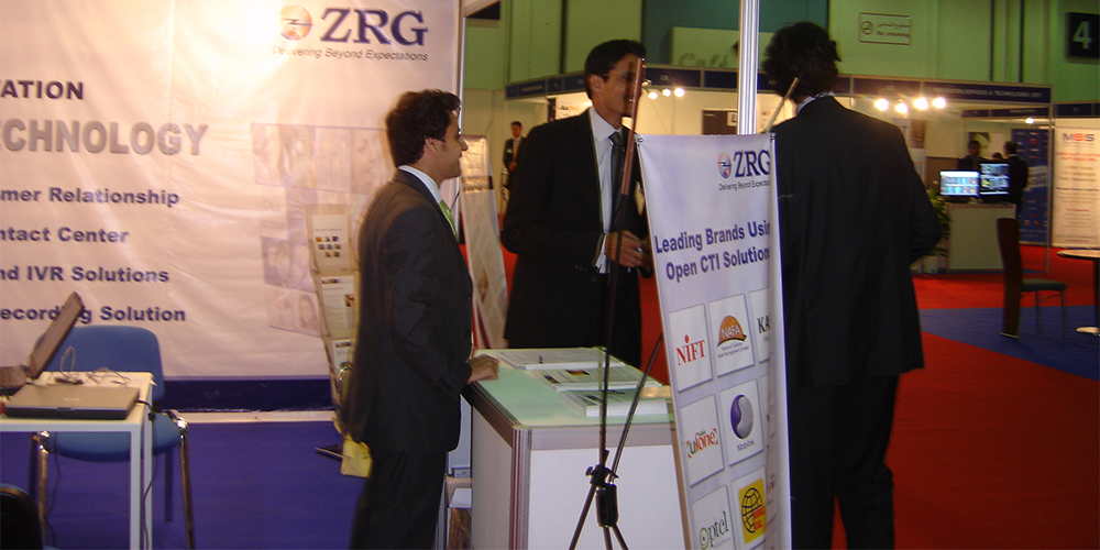3 - ZRG represents Pakistan in Dubai Software Expo