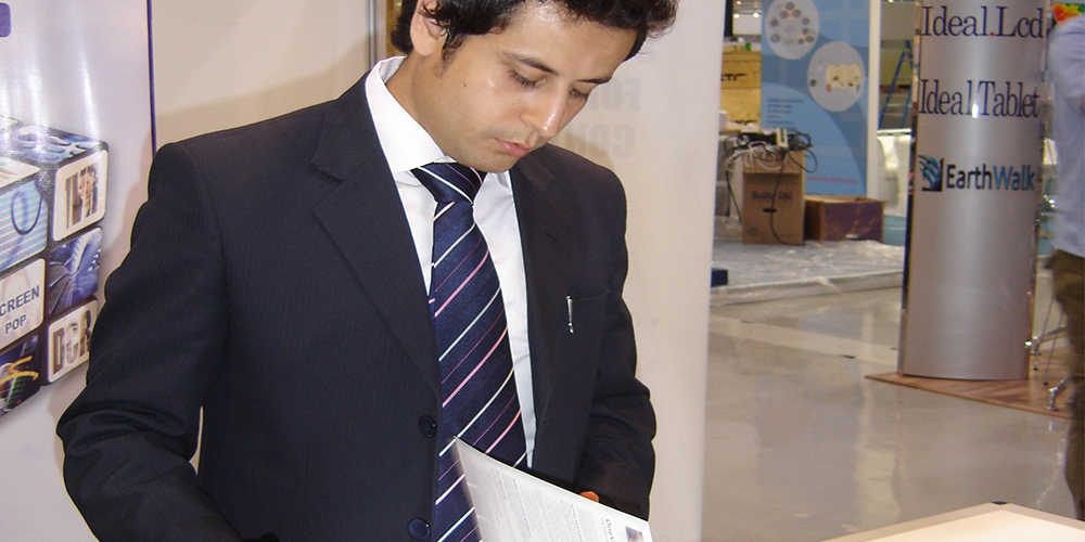 3 - ZRG Demonstrates State-of-the-art IT Solutions at GITEX '09 Saudi Arabi