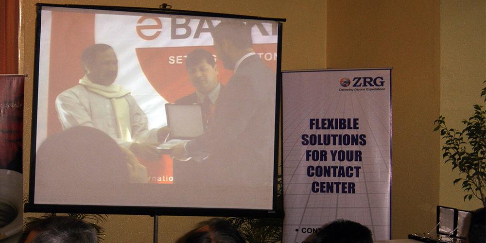 4 - ZRG represents Pakistan in E-Banking '09, Bangladesh
