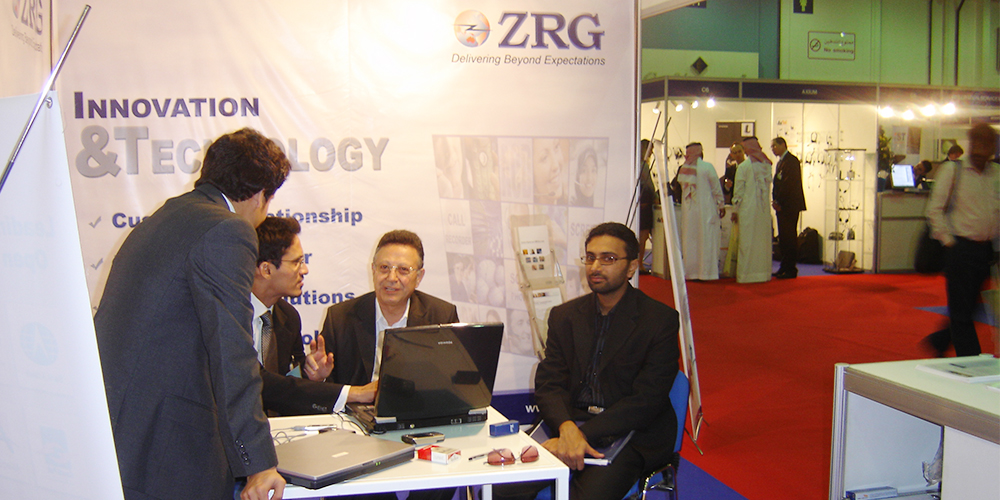 4 - ZRG represents Pakistan in Dubai Software Expo