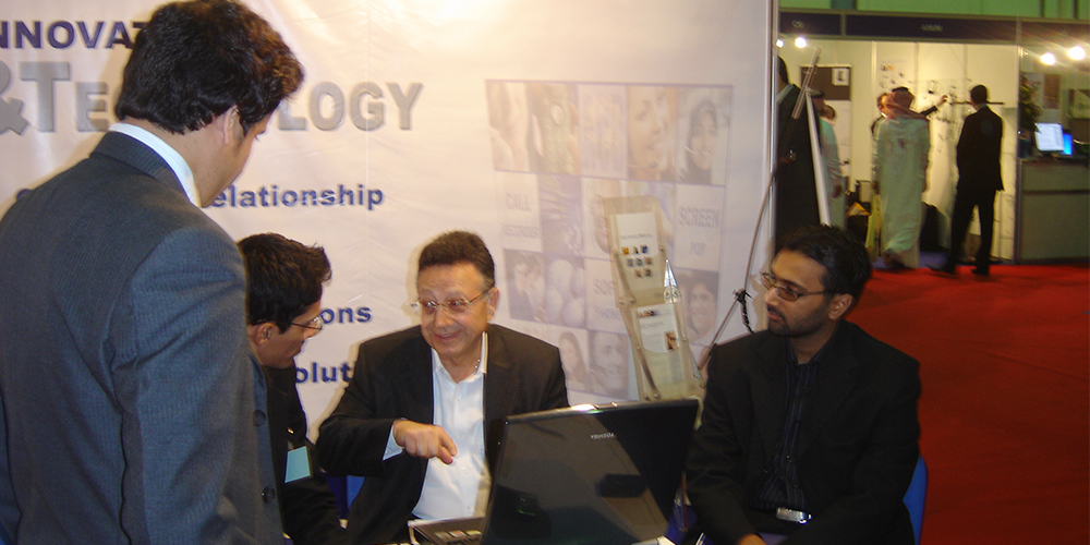 5 - ZRG represents Pakistan in Dubai Software Expo