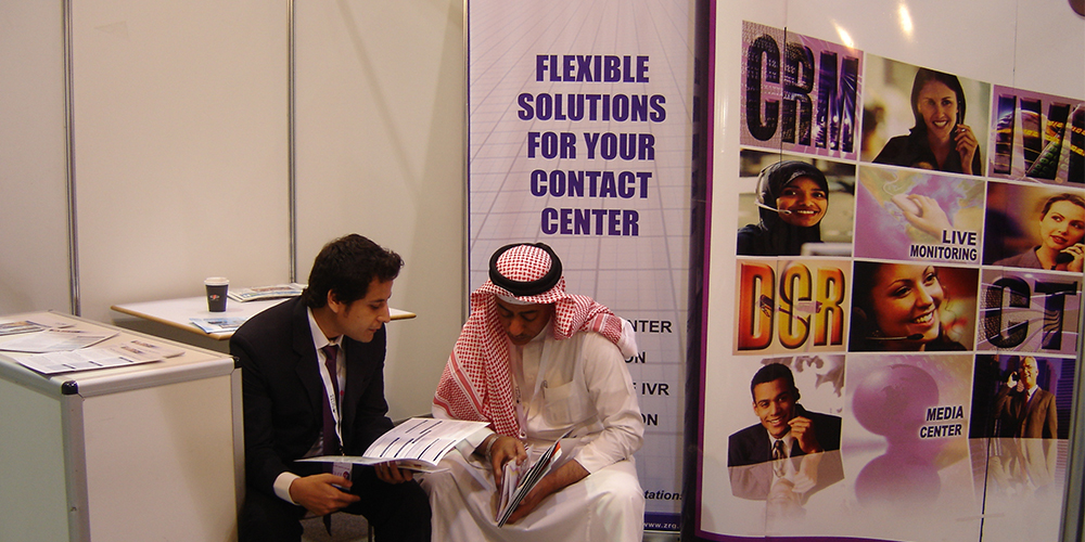 5 - ZRG Demonstrates State-of-the-art IT Solutions at GITEX '09 Saudi Arabi
