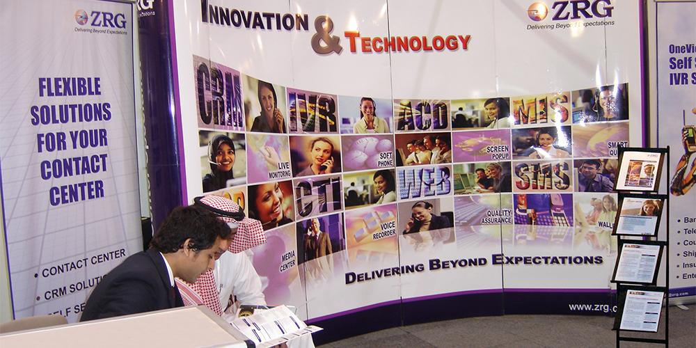 6 - ZRG Demonstrates State-of-the-art IT Solutions at GITEX '09 Saudi Arabi