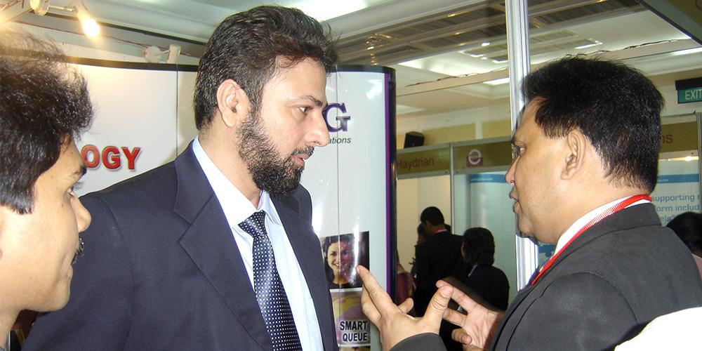7 - ZRG represents Pakistan in E-Banking '09, Bangladesh