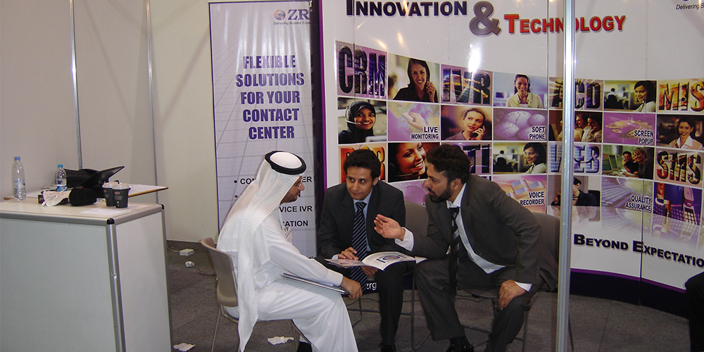 7 - ZRG Demonstrates State-of-the-art IT Solutions at GITEX '09 Saudi Arabi