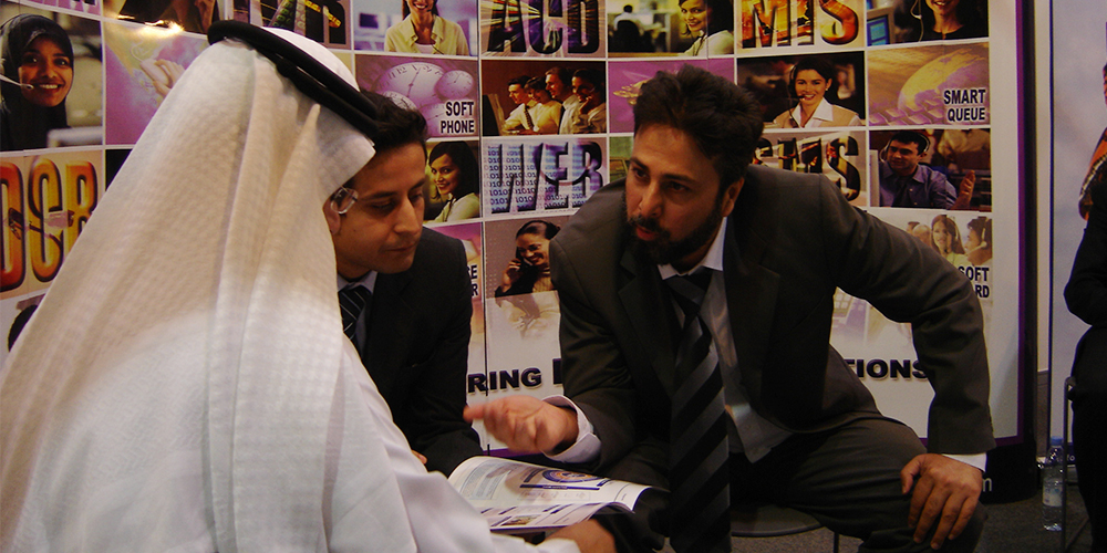 8 - ZRG Demonstrates State-of-the-art IT Solutions at GITEX '09 Saudi Arabi